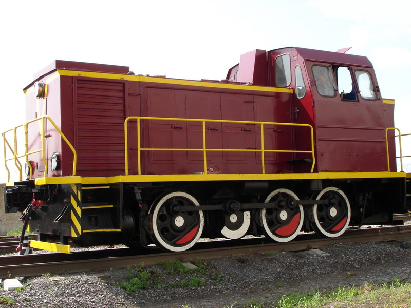 Тепловоз ТГМ23 №517